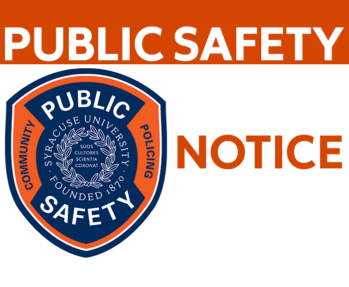 Department of Public Safety, Public Safety Notice