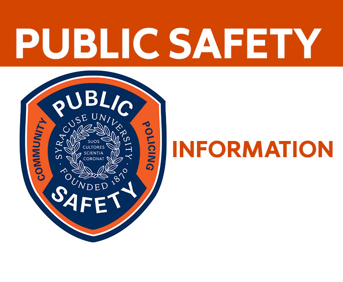 Public Safety Informational Notice