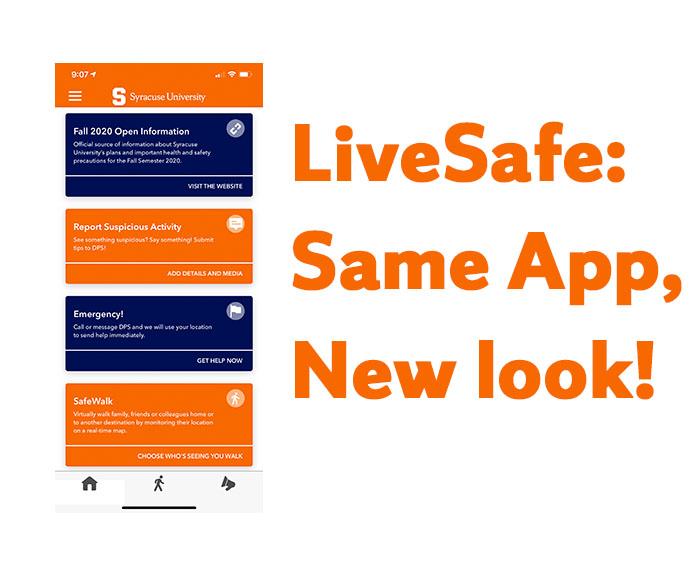 LiveSafe: Same App, New Look!