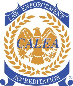 CALEA Law Enforcement Accreditation gold seal
